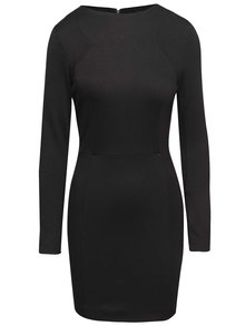 Rochie mini French Connection Lula neagră