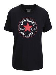 Tricou negru Converse Core de damă