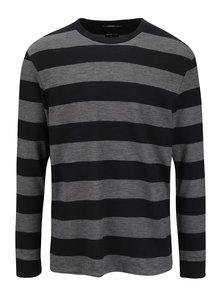 Bluză gri & neagră Selected Homme Urban