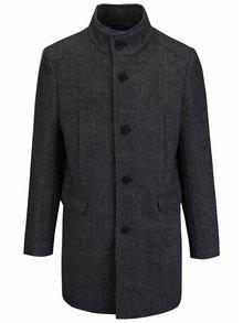 Palton gri închis Selected Homme New Mosto pentru bărbați