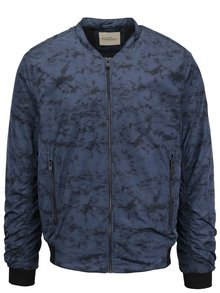 Jachetă bomber albastră Selected Homme Nfilson