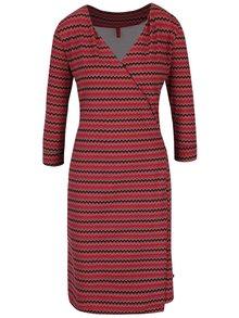 Rochie roșie cu imprimeu Tranquillo Jamala