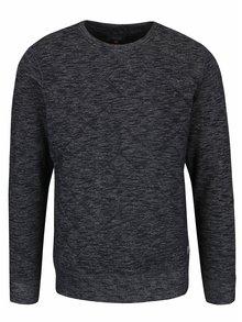 Bluză negru melanj Blend matlasată