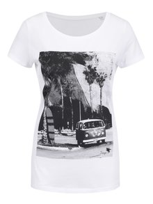 Bílé dámské tričko ZOOT Original Travel Traga