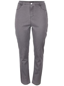 Šedé elastické džíny Dorothy Perkins Curve