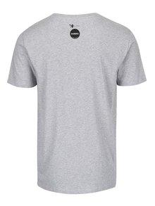 """Dobré"" šedé pánské tričko Elpida"