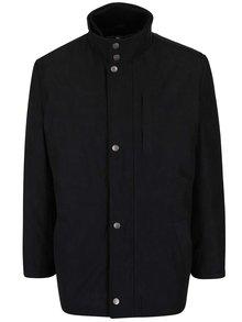 Černá pánská bunda s knoflíky Seven Seas