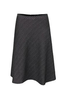 Čierna áčková kockovaná sukňa Fever London Lori