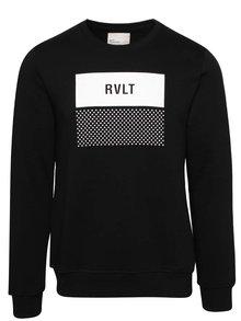 Bluză neagră RVLT cu print