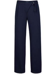 Tmavomodré voľnejšie nohavice Lavand