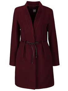 Palton roșu burgundy ZOOT Simple