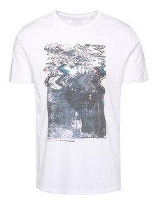 Bílé pánské triko s potiskem ZOOT Originál Horror and chill