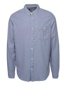 Cămașă albastră & gri Burton Menswear London din bumbac