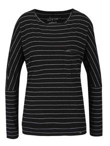 Bielo-čierne dámske pruhované tričko O'Neill Fantastic