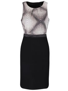 Šedo-černé vzorované šaty Smashed Lemon