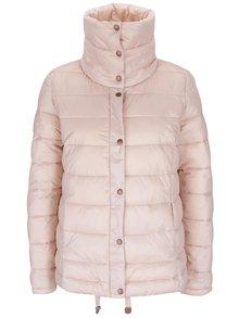 Růžová dámská prošívaná bunda PEP Sonna