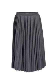 Šedá plisovaná sukně Desires Gunva
