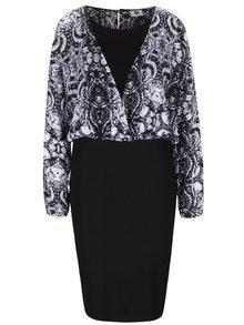 Černo-bílé vzorované šaty PEP Freja