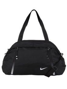 Čierna unisex cestovná taška Nike Auralux Club