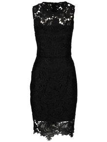 Rochie neagră AX Paris din dantelă
