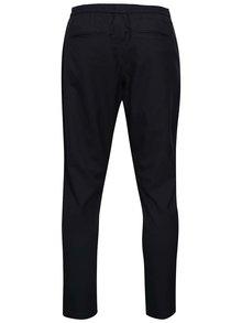 Tmavomodré nohavice s pružným pásom Selected Homme Key