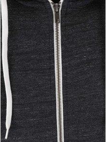 Tmavě šedá žíhaná mikina s kapucí Jack & Jones Storm
