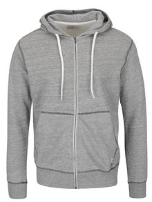Hanorac gri deschis Jack & Jones Storm cu model discret