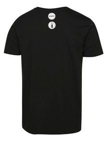 """""""Dobré"""" černé pánské tričko s potiskem Mamma HELP"""