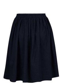 Tmavomodrá sukňa s pásom na gumu ZOOT