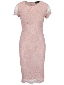 Rochie roz AX Paris din dantelă