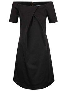Rochie neagră Closet cu decolteu pe umeri