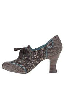 Pantofi maro Ruby Shoo Daisy cu model