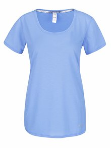 Modré dámske funkčné tričko Under Armour Streaker