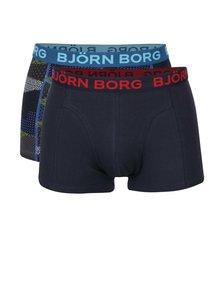 Sada dvou boxerek v tmavě modré barvě Björn Borg