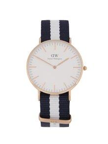Dámske hodinky v zlatej farbe CLASSIC Glasgow Daniel Wellington