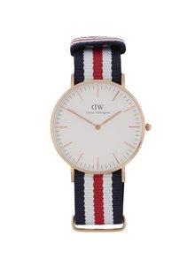 Dámske hodinky v zlatej farbe CLASSIC Cantebury Daniel Wellington