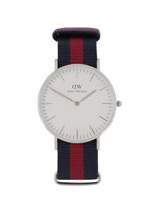 Dámske hodinky v striebornej farbe CLASSIC Oxford Daniel Wellington