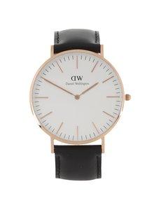 Ceas negru Daniel Wellington CLASSIC Sheffield pentru bărbați