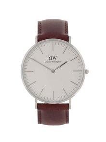 Pánske hodinky v striebornej farbe CLASSIC St. Mawes Daniel Wellington
