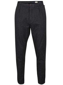 Tmavě šedé kalhoty Selected Homme Wulf