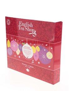 Cutie cadou roșie de ceai englezesc English Tea Shop