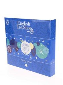 Modrá darčeková kazeta čajov English Tea Shop Ozdoby