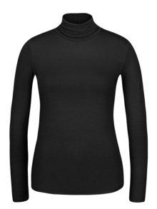 Černé tričko s rolákem a  dlouhým rukávem ZOOT