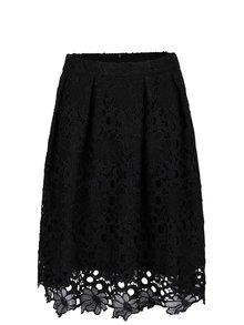 Černá krajková sukně VILA Rasma