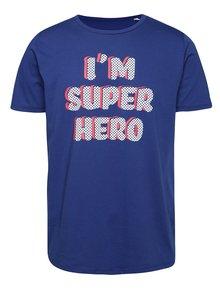 Modré pánske tričko ZOOT Originál I'm super hero