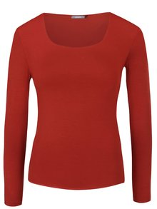 Červené tričko s dlhým rukávom ZOOT
