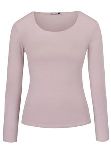 Bluză roz deschis cu decolteu rotund ZOOT