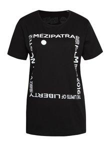 """""""Dobré"""" černé unisex tričko pro Mezipatra"""