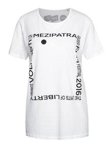 """""""Dobré"""" biele unisex tričko pre Mezipatra"""