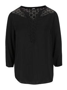 Bluză neagră Haily´s Nadine cu detalii macrame